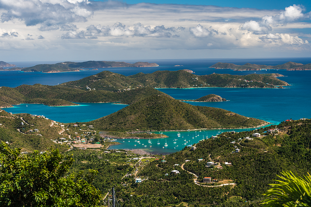 View of Coral Bay